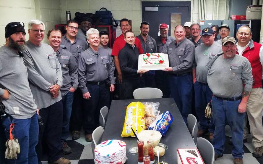 FP&M and CSHP staff at 500 Days Celebration