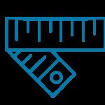 illustration of measuring tape