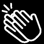hand clap icon