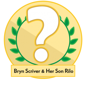 Bryn Scriver and her son Rilo - Image of
